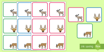 Reindeer Themed Editable Drawer, Peg, Name Labels - reindeer themed editable drawer peg name labels, reindeers, tray labels, name labels, peg labels, re