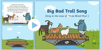 Big Bad Troll Song PowerPoint