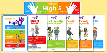 High Five How To Deal With Bullying Pack Romanian Translation -  packs, bully, dealing