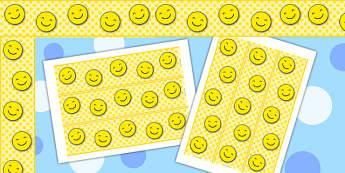 Smiley Display Borders - border, displays, smile, faces, frames