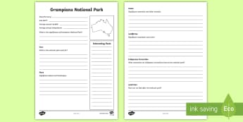 Australian States and Territories - Grampians National Park Information Report - Australian Curriculum, HASS, Geography, Year Three, The representation of Australia as states and te