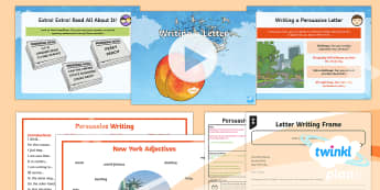 PlanIt Y4 Explorers: James and the Giant Peach Lesson Pack Persuasive Writing (3) - Explorers: James and the Giant Peach, Roald Dahl, Persuasive Writing, Persuasive Letter, expanded no
