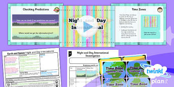 Science: Earth and Space: Night and Day International Year 5 Lesson Pack 5