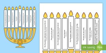 Light the Candle Hanukkah Puzzle English/Portuguese - hanukkah, puzzle, candle, hannukkah, hannuka, hannakuh, hanakah, hanukkha, hanuuka, hanukah, hannaka