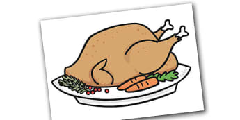 Editable A4 Christmas Turkey - christmas, xmas, editable, image, editable image, christmas turkey, display christmas turkey, turkey, turkey picture, picture of a turkey, display turkey, editable picture, editable display image, display, display pictu