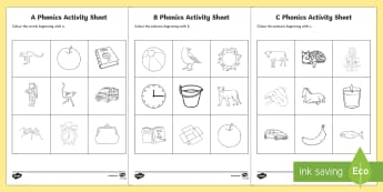 Phonics Colouring Worksheet / Activity Sheets Resource Pack - Phonics Colouring Worksheet / Activity Sheets Resource Pack - Republic of Ireland, Phonics Resources, initial so