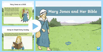 Mary Jones and Her Bible PowerPoint - Mary, Mari, Jones, Bible, beilbl, Cymru, hanes, Bala,Welsh