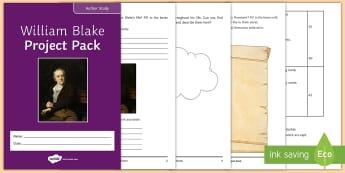 William Blake Project to Support Teaching On 'Skellig' by David Almond  - Skellig, David Almond, Michael, Mina, KS3 Literature, KS3 Novel, Low Ability Reading, Year 7 Novel,