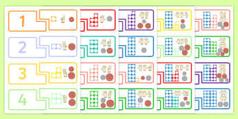 Counting Puzzle 1-20 - counting, puzzle, 20, number, maths, count