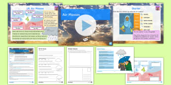 Weather and Climate Lesson 7: UK Air Masses - Tropical, Continental,  Maritime, Polar, Polar, Arctic