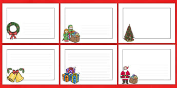 christmas page borders landscape - page border, border, frame, writing frame, christmas, christmas page borders, landscape christmas page borders, writing template, writing aid, writing, A4 page, page edge, writing activities, lined page, lined pages