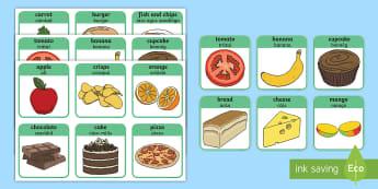 Healthy and Unhealthy Sorting Activity Gaeilge - bia, sláintiúil, míshláintiúil, sorting activity healthy or unhealthy, Irish