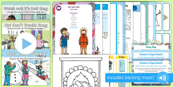 Hot and Cold Concept EYFS Resource Pack - early concepts, heat, child minder, childminding