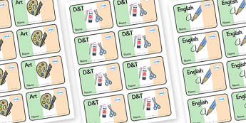 Ireland Themed Editable Book Labels - Themed Book label, label, subject labels, exercise book, workbook labels, textbook labels