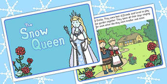 The Snow Queen Story  - traditional, tales, stories, visual