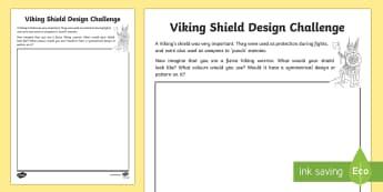 Viking Shield Design Challenge - CfE, calendar events, Scotland, Scottish, traditions, history, celebrations, Up Helly Aa, Lerwick, S