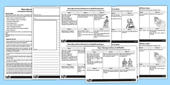 Mary Queen of Scots Front Page News Prompt Sheets Writing Frames