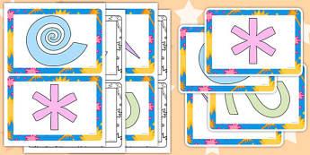 Finger Gym Pattern Card - finger gym, pattern, card, finger, gym