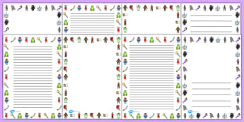 Fairy Tale Page Borders - fairy tale, page, borders, page borders