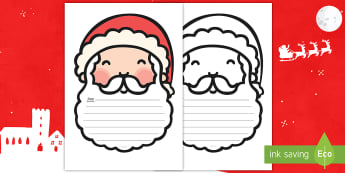 * NEW * Letter To Santa Writing Template - English / Spanish  - EAL, Letter To Santa Template - writing,letter to santa, write your own letter to santa, wishlist, c