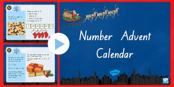 Number Advent Calendar PowerPoint - New Zealand Maths, History of Number, Number Challenge