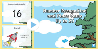 Year 1 Number Recognition and Place Value Maths Warm-Up PowerPoint  - * NEW * Year 1 Number Recognition and Place Value Warm-Up PowerPoint - maths, KS1, warm-up, warm up,