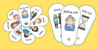 Daily Routine Communication Fans - Daily Routine, Communication fan, SEN, Daily Timetable, School Day, Daily Activities,  KS1, Foundation Stage