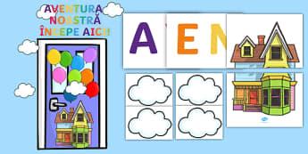 Aventura noastră începe aici - Pachet pentru decorul ușii - început de an școlar, decorul ușii, ușa decorată, revenirea la școală, decor,Romanian