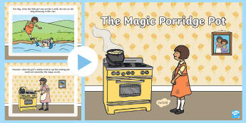 The Magic Porridge Pot Story PowerPoint - the magic porridge pot, the magic porridge pot powerpoint, the magic porridge pot story, magic porridge pot story