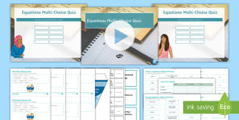 Edexcel Physics Equations Revision Activity Pack - physics equations, learn equations, use equations, speed, waves