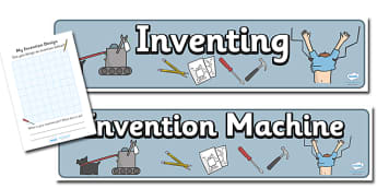 Invention Role Play Pack - invention, design, role play, play, pack, activity, creative, creativity, inventing