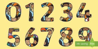 People Who Help Us Middle East Display Numbers - People Who Help Us,UAE, uae doctors, uae jobs, workers, display, numbers, 0-9