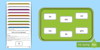 What's on the Tray? Phase 3 Tricky Words Memory Activity Pack - memory games, memory, memory game, memory activities, memory games for kids, auditory memory activit
