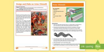 Design an Aztec Shield Activity - warrior, Aztec society, chimalli, Ancient Civilisation, craft,Pattern, feathers, design Technology,