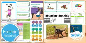 Free KS1 Move Taster Resource Pack - freebie, sample, taste, tester, test, bumper