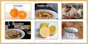 Pancake Cafe Role Play Photos - Pancake Day UK Feb 28th, shrove Tuesday, pancakes, lent,