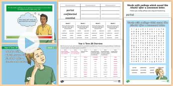 Year 6 Term 2B Week 2 Spelling Pack - Spelling Lists, Word Lists, Spring Term, List Pack, SPaG, spelling homework