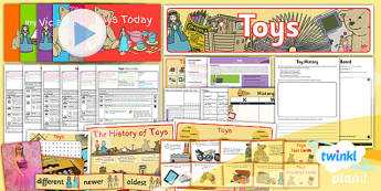 History: Toys KS1 Unit Pack