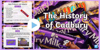 The History of Cadbury PowerPoint