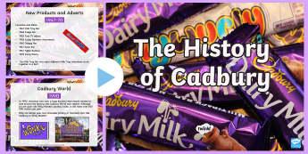 The History of Cadbury PowerPoint