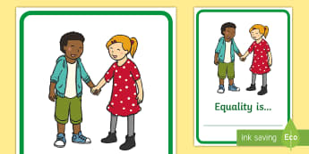 Equality Is... Display Poster - Black History Month in Canada, equality, civil rights, multicultural, heritage.