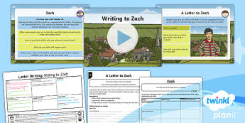 PlanIt Y5 World War II: To Suppot Teaching on Goodnight Mister Tom Lesson Pack Letter Writing