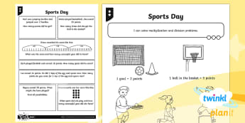 * NEW * PlanIt Maths Y2 Multiplication and Division Home Learning Tasks - Multiplication and Division, problem solving and reasoning, explaining, word problems, doubles and h