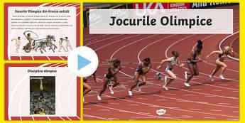 Jocurile Olimpice - Prezentare PowerPoint