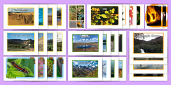 Nature Pictures Resource Pack - Picture Cards, nature pictures, resource pack