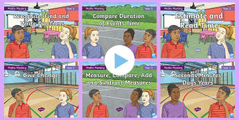Year 3 Measurement Maths Mastery PowerPoint Resource Pack - Reasoning, Greater Depth, Abstract, Problem Solving, Explanation