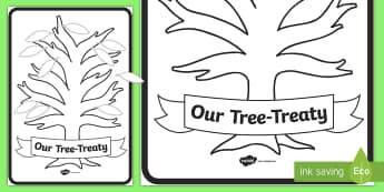 Our Tree-Treaty Display Posters - New Zealand Back to School
