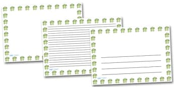 Happy Dragon Landscape Page Borders- Landscape Page Borders - Page border, border, writing template, writing aid, writing frame, a4 border, template, templates, landscape