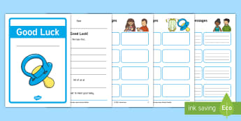 Maternity Leave Blue Activity Booklet