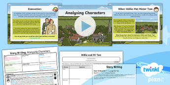 PlanIt Y5 World War II: To Support Teaching on Goodnight Mister Tom Lesson Pack Story Writing (1)